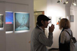 """Wernisaż wystawy Joanny Karpowicz """"I want to believe"""" ."""