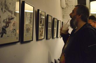 Wystawa sztuki komiksu (anty)Bohaterowie Gotham.