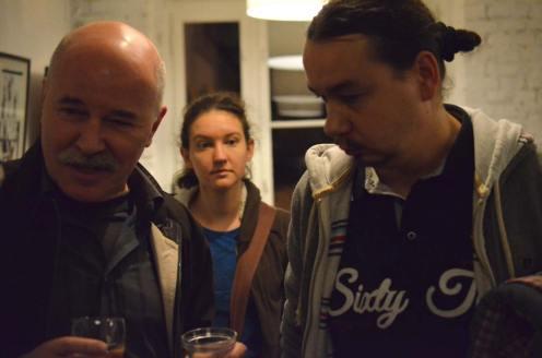 Na zdjęciu m.in. Zbigniew Kasprzak i Marek Kasperski.