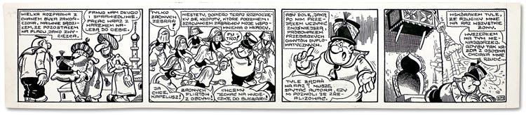 Opowieści Koka - pasek komiksowy.