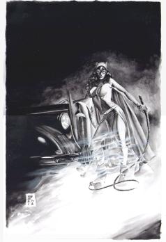 Gene Espy, Catwoman Pinup.