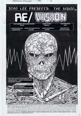 Dan Panosian, Avengers Spotlight #40 / 1.