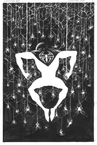 Max Fiumara, Scarlet Spider #17, okładka.