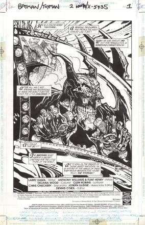 Anthony Williams, Batman: Toyman #2 / 1.