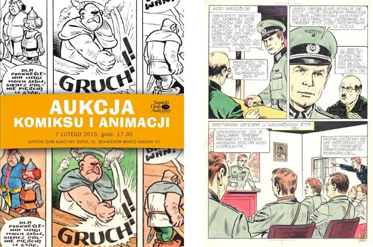 Aukcja Komiksu i Animacja, Sopocki Dom Aukcyjny.