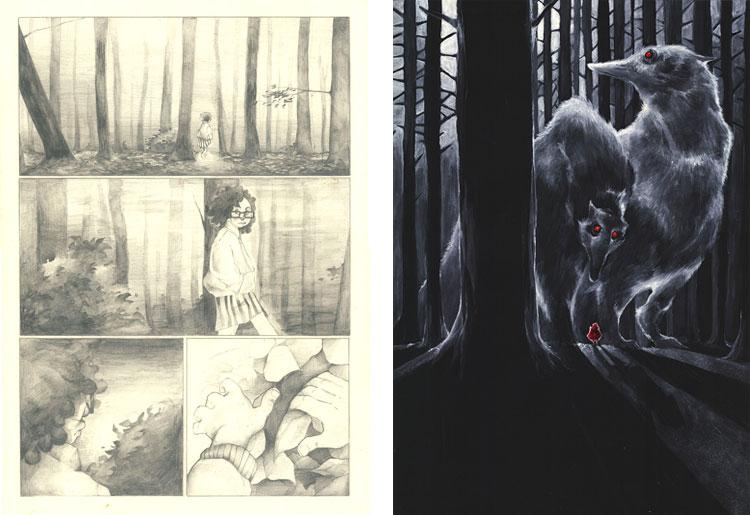 Katarzyna Babis - rysunki.