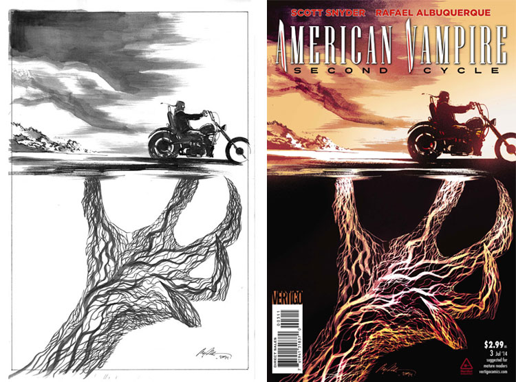 Rafael Albuquerque, American Vampire vol 2 #3.