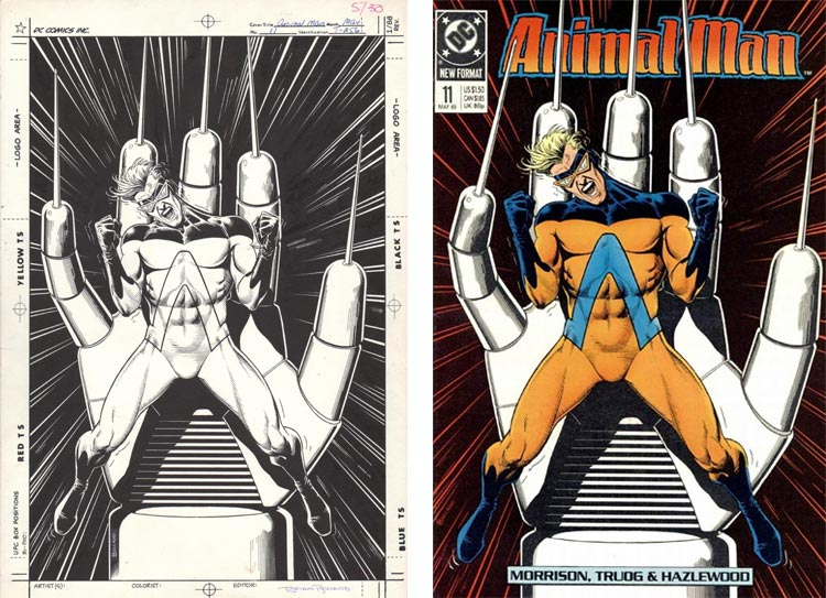Brian Bolland, Animal Man 11.