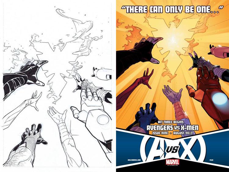 Kalman Andrasofszky,  Avengers vs. X-Men 9.