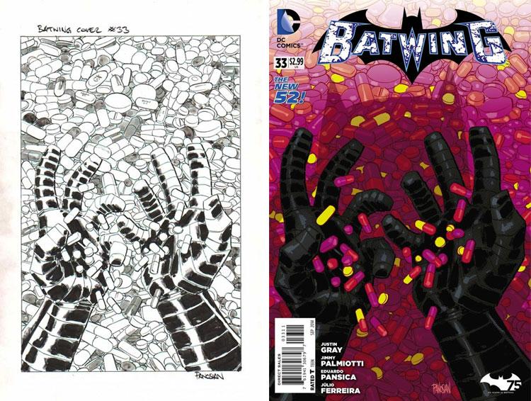 Dan Panosian, Batwing #33.