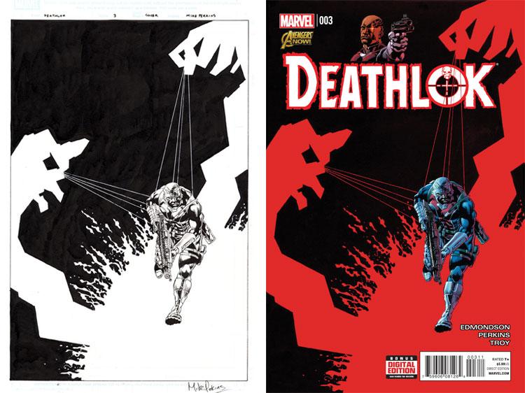 Mike Perkins, Deathlok 3.