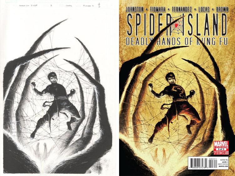 Sebastian Fiumara, Spiders Island.