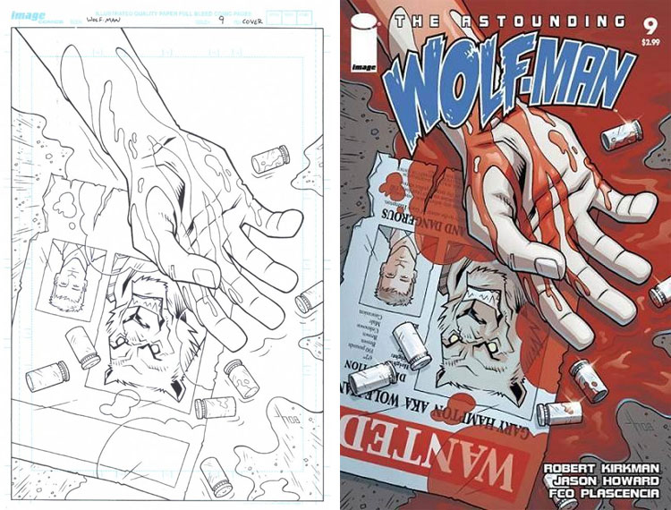 Jason Howard, Astounding Wolfman 9.