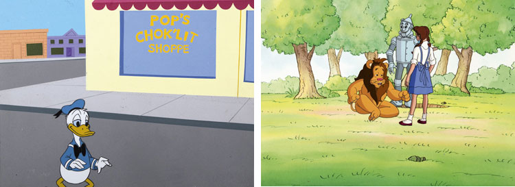 Kaczor Donald & Czarnoksiężnik z krainy Oz.