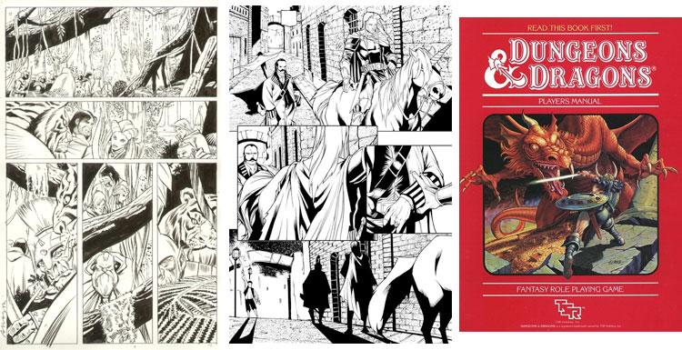 Dungeons & Dragons - komiks.