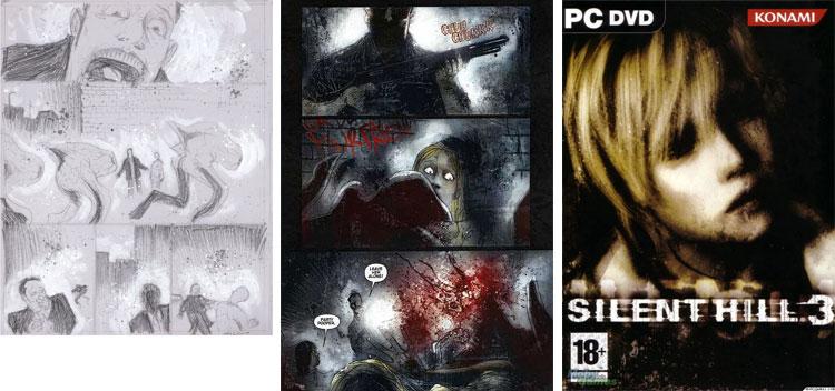 Silent Hill - Ben Templesmith.