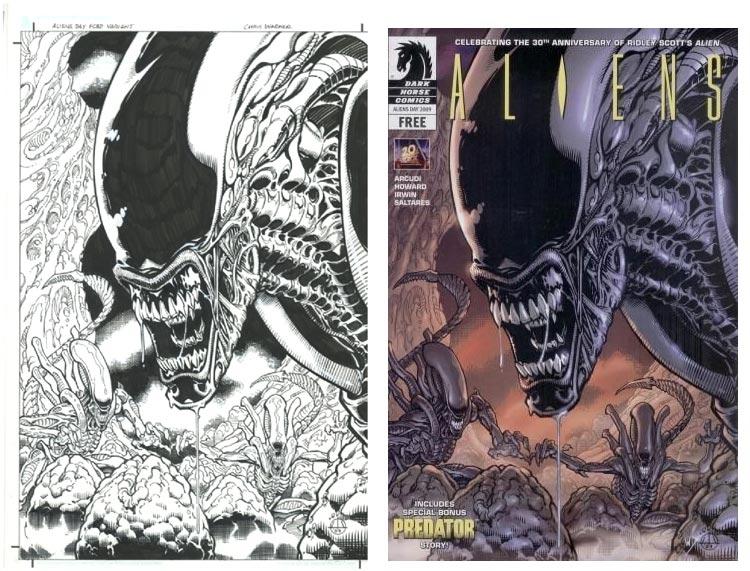 Chris Warner, Aliens Day Edition #0.