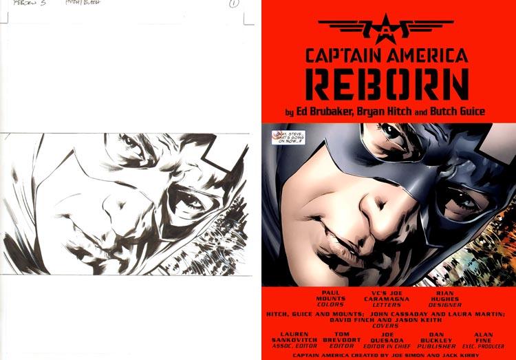 Jackson (Butch) Guice, Captain America: Reborn #5.