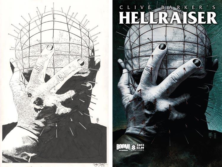 Tim Bradstreet, Hellraiser #8.