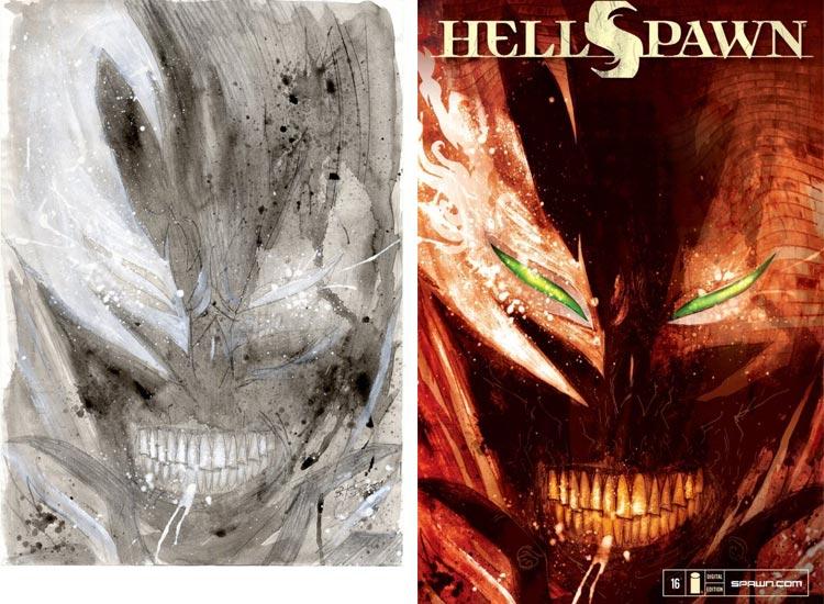 Ben Templesmith, Hellspawn #16.