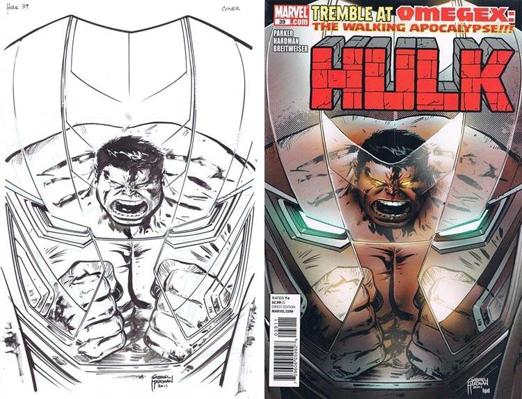 Gabriel Hardman, Hulk #39.
