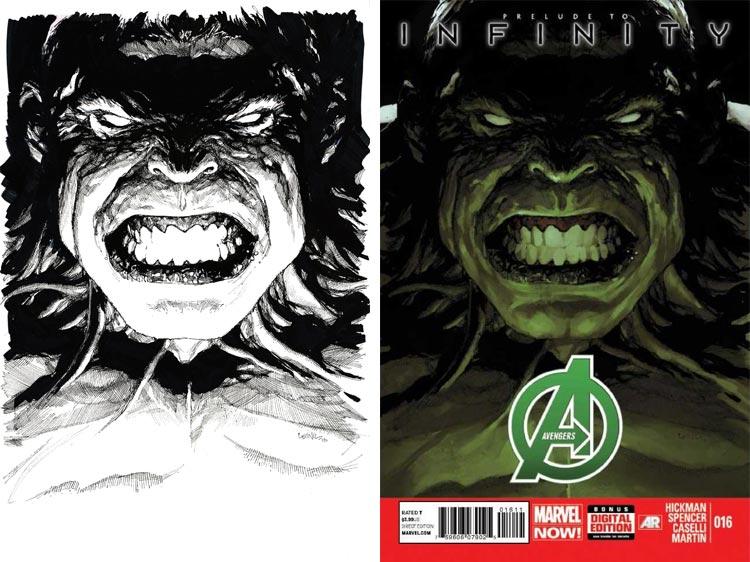 Leinil Yu, Avengers #16.