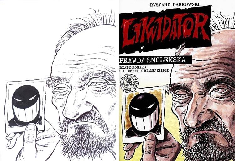 Ryszard Dąbrowski, Prawda Smoleńska. Biały komiks.