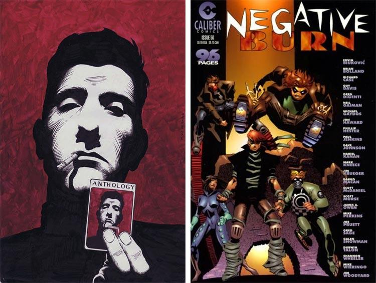 Mike Perkins, Negative Burn #50.