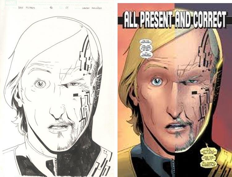 Leandro Fernandez, New Mutants #46.