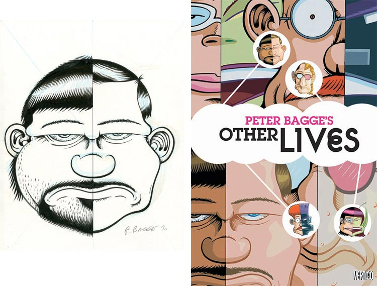 Peter Bagge, Other Lives - okładka.