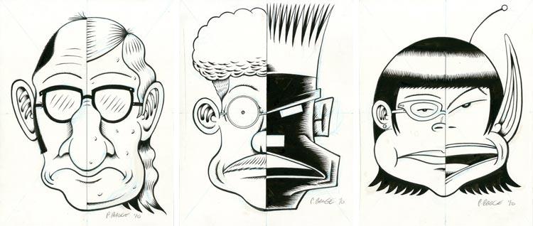 Peter Bagge, Other Lives - rysunki.