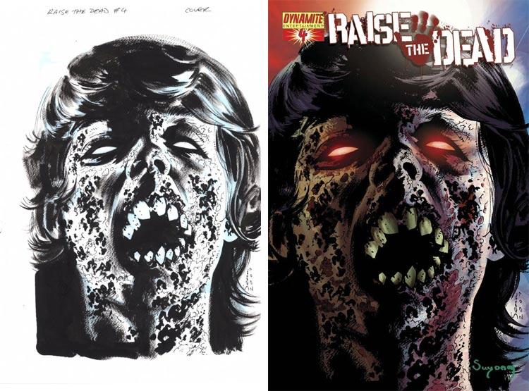 Sean Phillips, Rise The Dead #4.