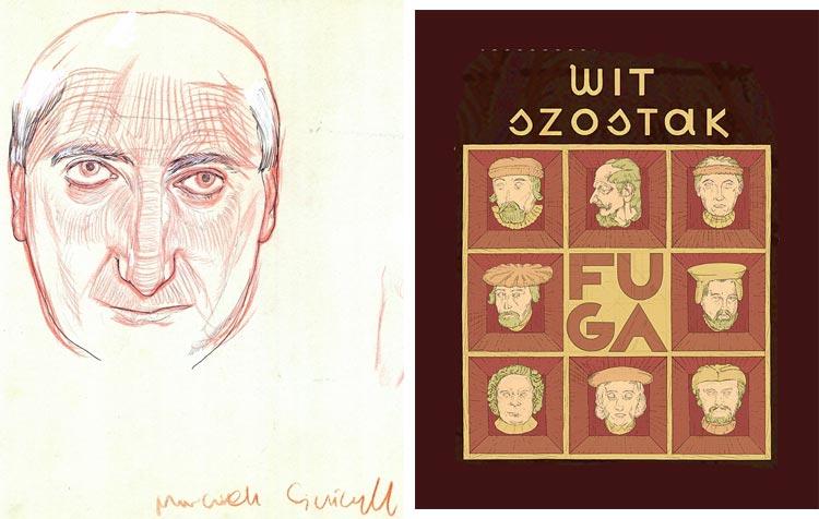 Maciej Sieńczyk - rysunki.