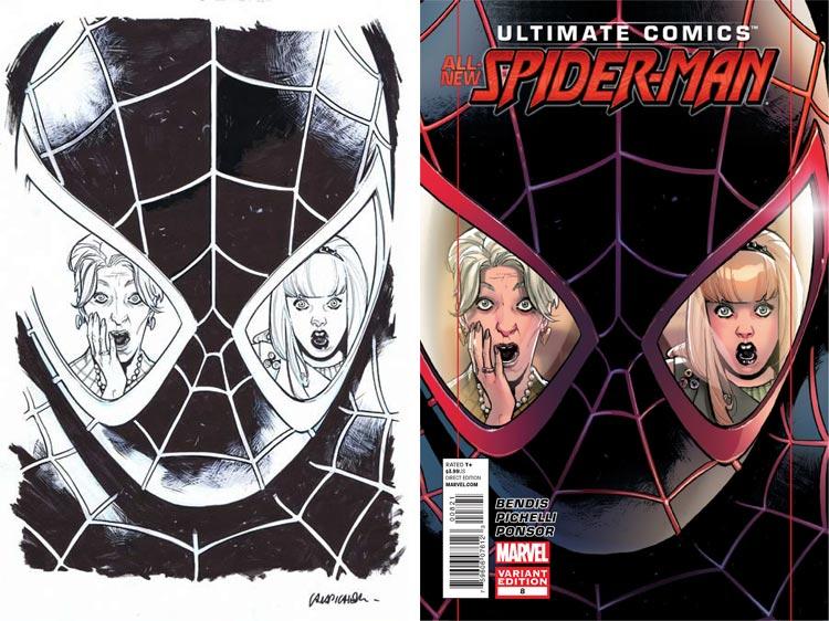 Sara Pichelli, Ultimate Comics Spider-Man Vol 2 #8.