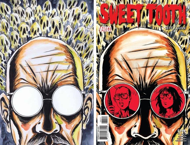 Jeff Lemire, Sweet Tooth #34.