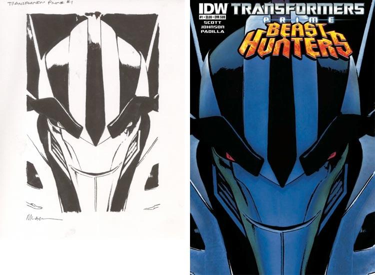 Michael Lark, Transformers Prime Beast Hunters #1.
