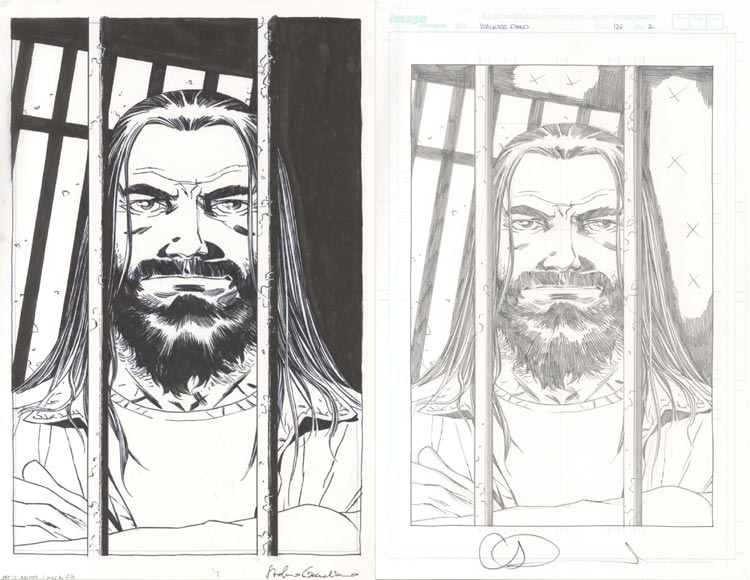 Charles Adlard, Walking Dead #129.