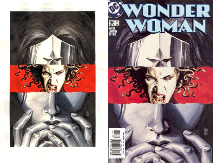 J.G. Jones, Wonder Woman vol 2 #209.