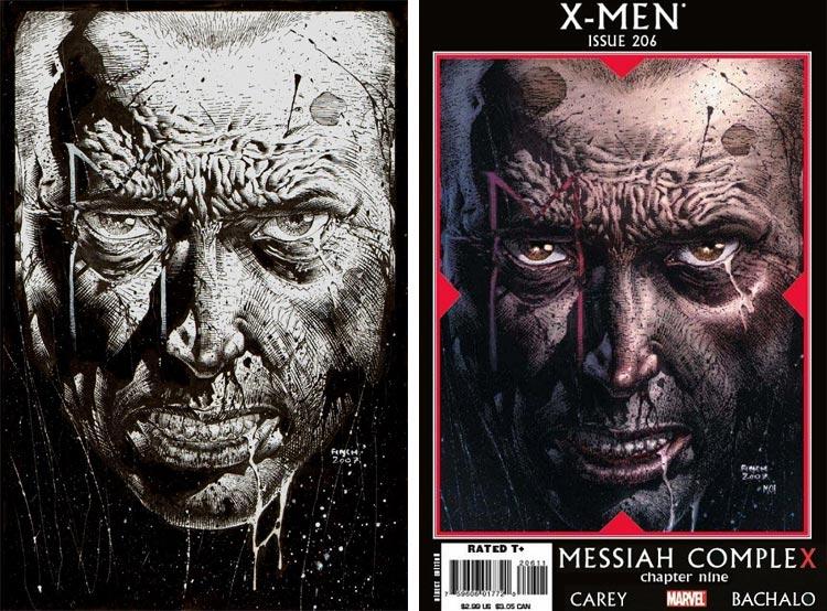 David  Finch, X-Men #206.