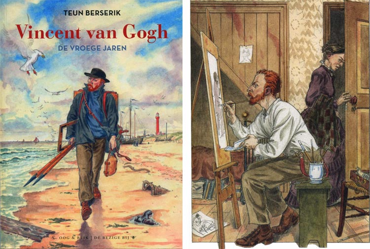 Vincent van Gogh de Vroege Jaren, Teun Berserik.