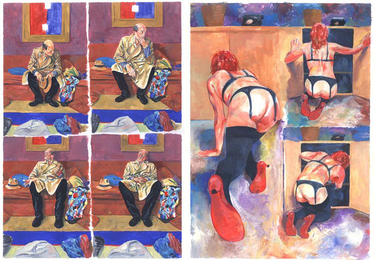 Wojciech Stefaniec - komiks, malarstwo.