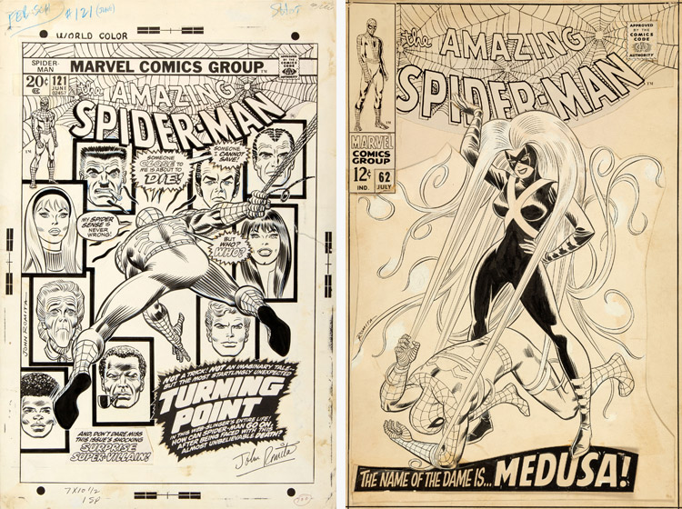 Amazing Spider-man - classic covers - John Romita Sr.