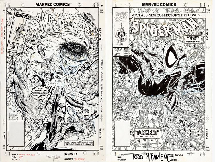 Amazing spider-man - Todd McFarlane.