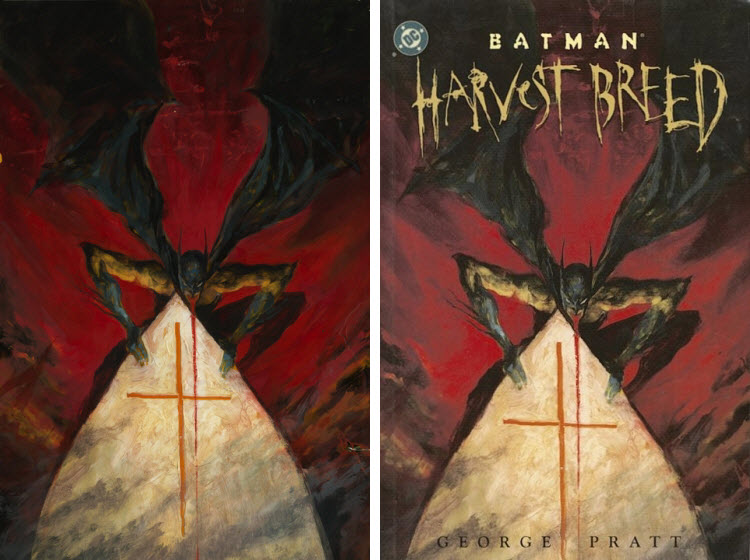 G. Pratt, Batman: Harves Breed, cover.