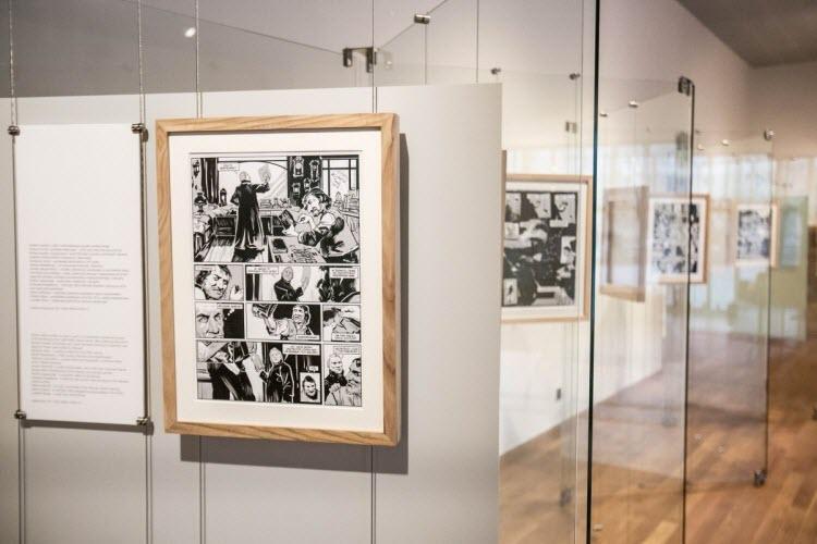 POLIN - wystawa Historia i kreski.